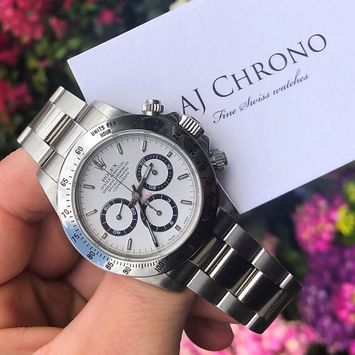 Stainless Steel Rolex Zenith Daytona 1999 A Serial Complete With Original Paper