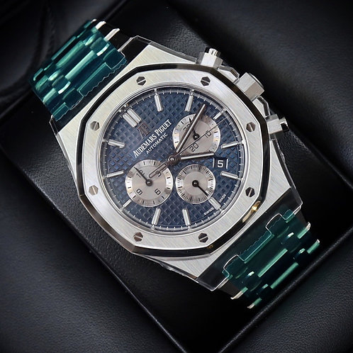 2020 Unworn Factory Sealed Audemars Piguet Royal Oak Chronograph Boutique Blue