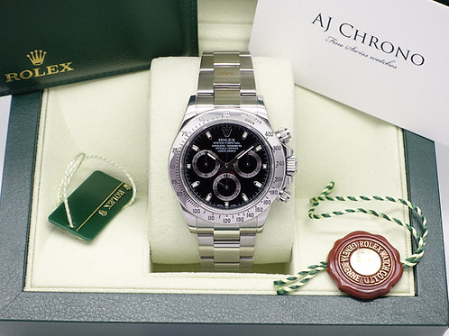 Stainless Steel Rolex Cosmograph Daytona 116520 Full Collectorsl Set 2014