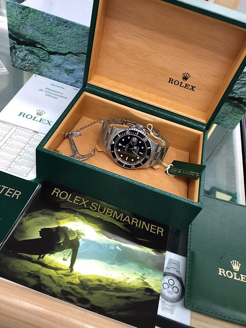 Collectors Set F Serial 2004 Stainless Steel Rolex Submariner 16610