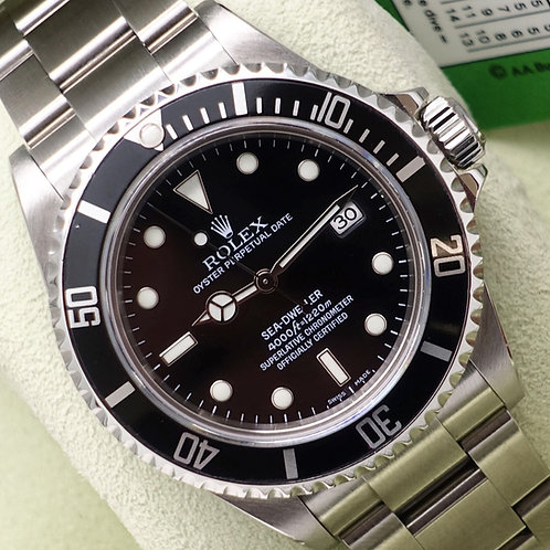Collectors Set Rolex Sea-Dweller 16600 Complete With Box & Papers 2006