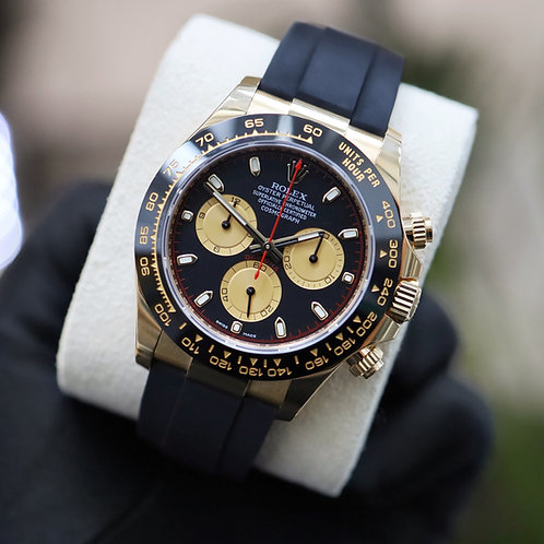 Gents 18ct Yellow Gold Oysterflex Daytona Complete With Box & Papers Dated 2020