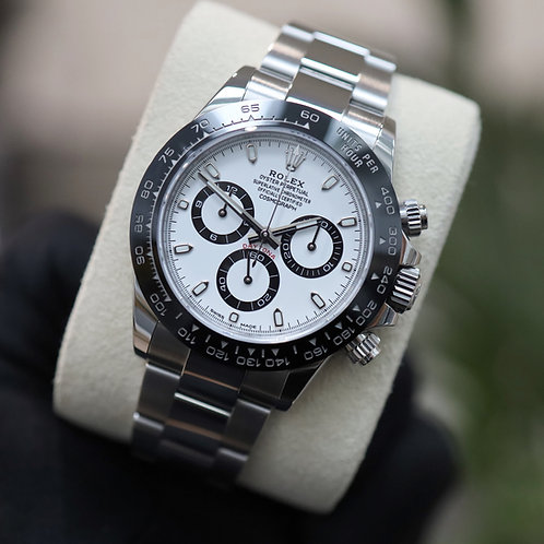 Unworn Gents Stainless Steel Rolex Oyster Perpetual Cosmograph Daytona 116500LN