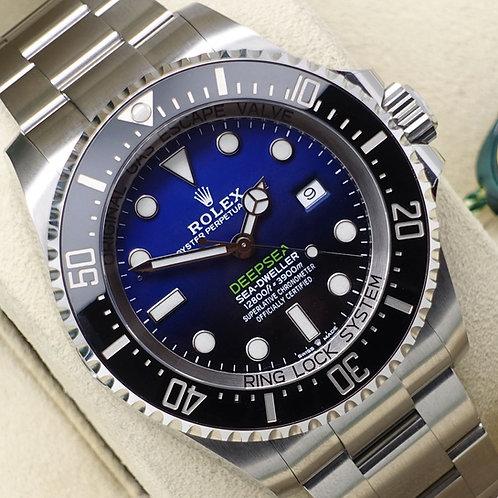 Unworn 2019 Rolex Oyster Perpetual Deepsea Seadweller James Cameron 126660