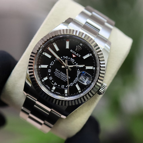 Rolex Sky-Dweller 326934 Black dial Box and Papers Brand New 2021