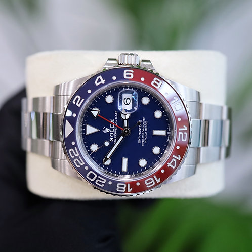 2020 18ct White Gold Rolex Oyster Perpetual GMT-Master II 126719BLRO