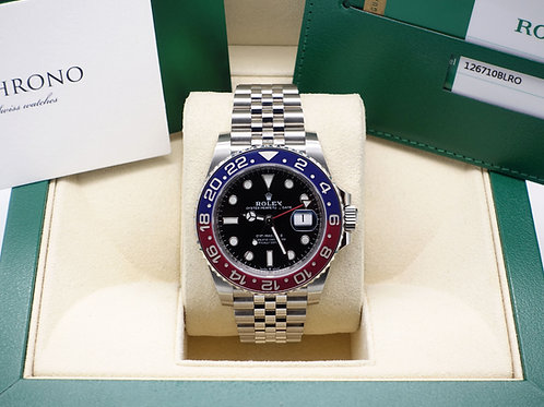 Pepsi Rolex Oyster Perpetual GMT-Master II 126710BLRO With Box & Papers 2018