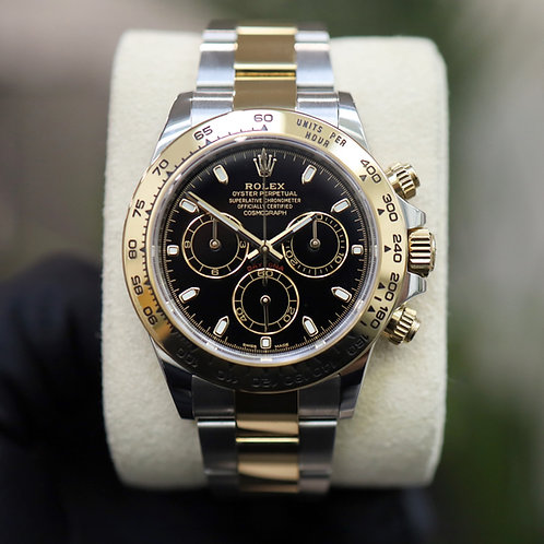 2019 Gents stainless steel & 18ct Gold Rolex Oyster Perpetual Daytona 116503