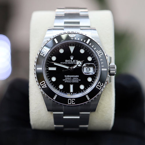 Unworn 2021 Gents Stainless Steel Rolex Submariner 126610LN With Box & Papers
