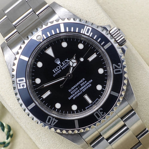 Final Production G Serial 2010 Stainless Steel Rolex Submariner 14060M 4 Liner