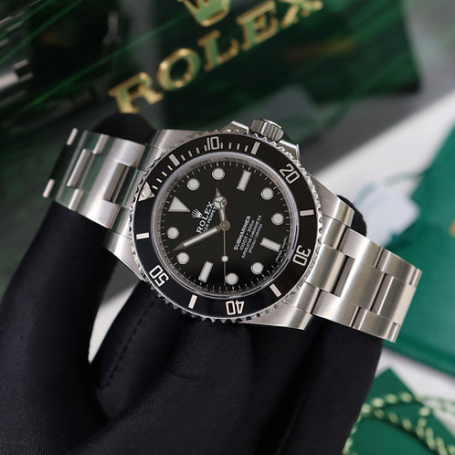 Gents Stainless Steel Rolex Oyster Perpetual Submariner Non Date 114060