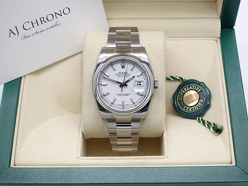Factory Sealed Gents Stainless Steel Rolex Oyster Perpetual Datejust 116200