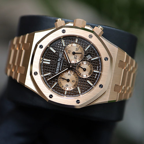 Unworn 2021 Audemars Piguet 26331or Chocolate Dial Complete With Box & Papers