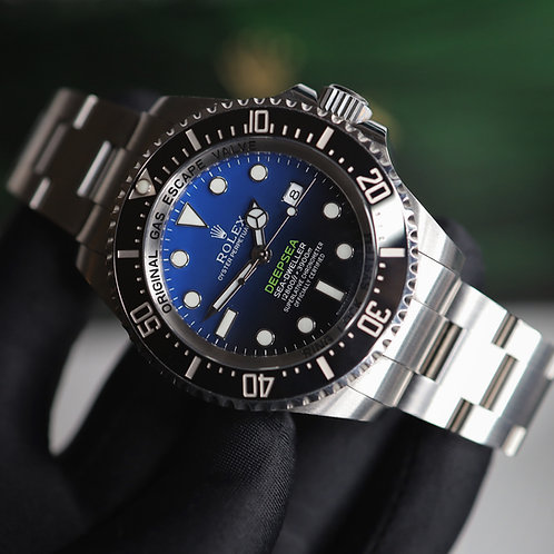 Gents Stainless Steel Rolex James Cameron Deepsea D-Blue Dial 2017 Box & Papers