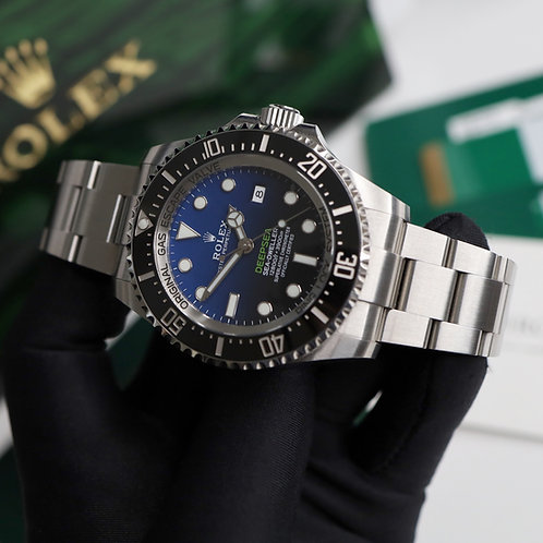 Unworn 2019 Steel Rolex James Cameron Deepsea D-Blue Dial Some Factory Seals