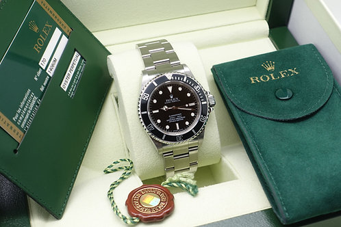 Gents Stainless Steel Rolex Oyster Perpetual Submariner Non Date 4 Liner 14060M