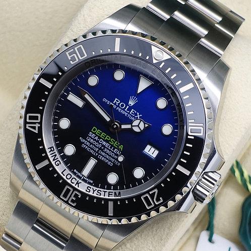 Unworn Gents Stainless Steel Rolex James Cameron Deepsea D-Blue Dial 2016 Sealed