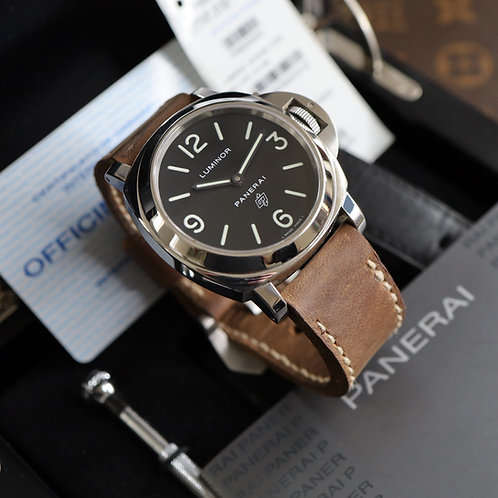 Stainless Steel Panerai Luminor Base Complete With Box & Papers Dated 2007