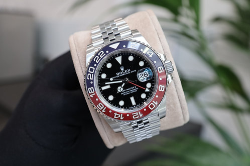 Pepsi Rolex Oyster Perpetual GMT-Master II 126710BLRO With Box & Papers