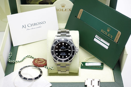 4 Liner Stainless Steel Rolex Submariner 14060M Complete With Box & Papers