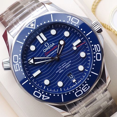 Unworn Gents Stainless Steel Omega SeaMaster Diver 300m 210.30.42.20.03.001