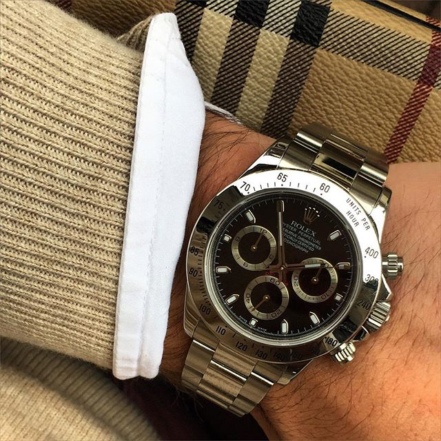 Stainless Steel Rolex Daytona 116520