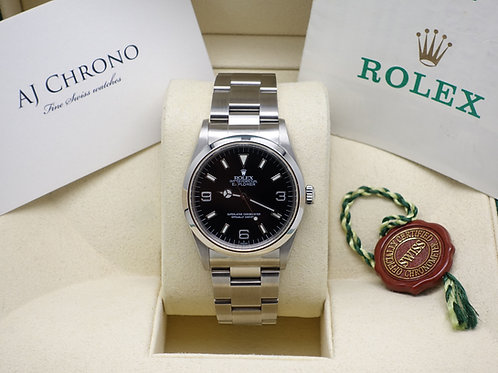 Gents Stainless Steel Rolex Explorer 36mm With Original Rolex Paperwork 14270