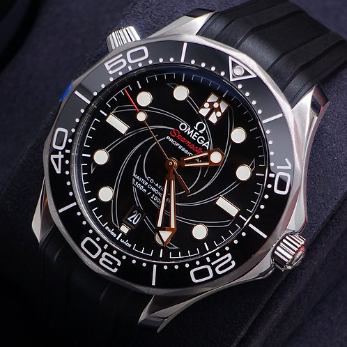 Unworn Limited Edition Omega Seamaster James Bond Edition Diver 300m