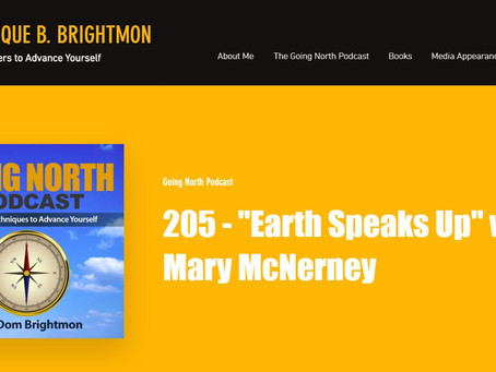 Mary is on 'Going North' Podcast