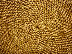 woven basket from wisdom community craft workshop