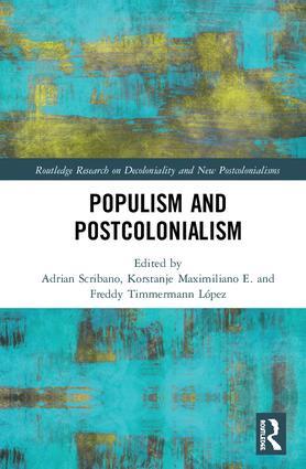 Cécile Vermot présente le livre Populism and Postcolonialism paru chez Routedlge