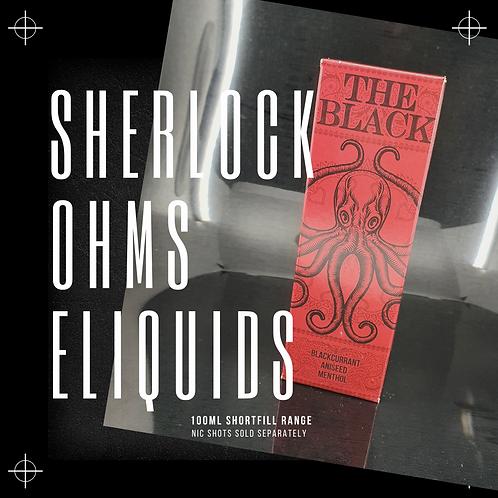 SHERLOCK OHMS 100ML SHORTFILL ELIQUIDS 0MG
