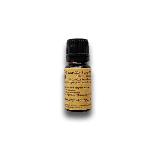 Kapre CBD Massage Oil 200mg 10ml Vial