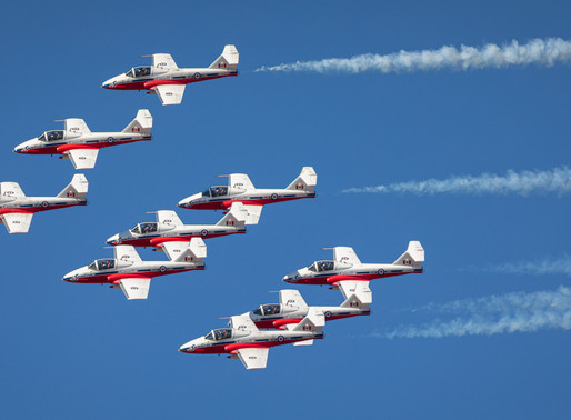 Canadian Snowbirds: Operation Inspiration