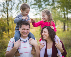 Family photo session in Moncton, NB