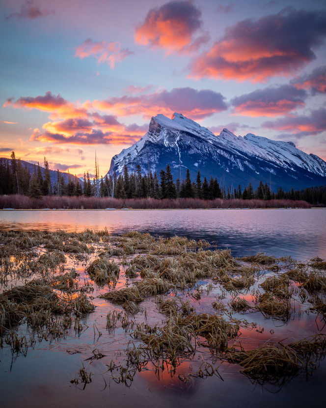 Vermillion Lakes and Mt. Rundle, Banff National Park