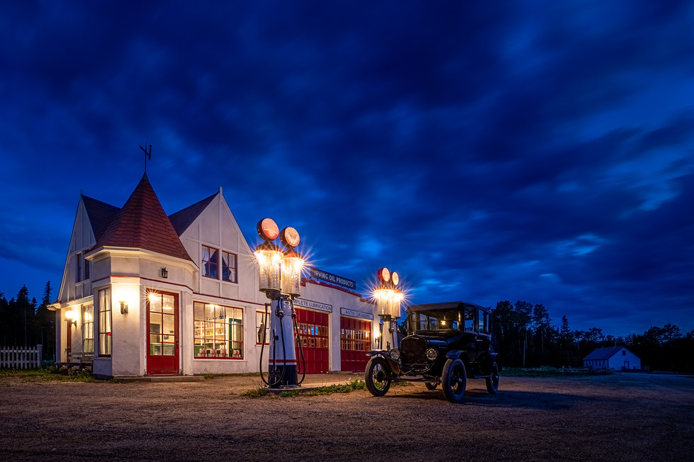 Historic Gas Station