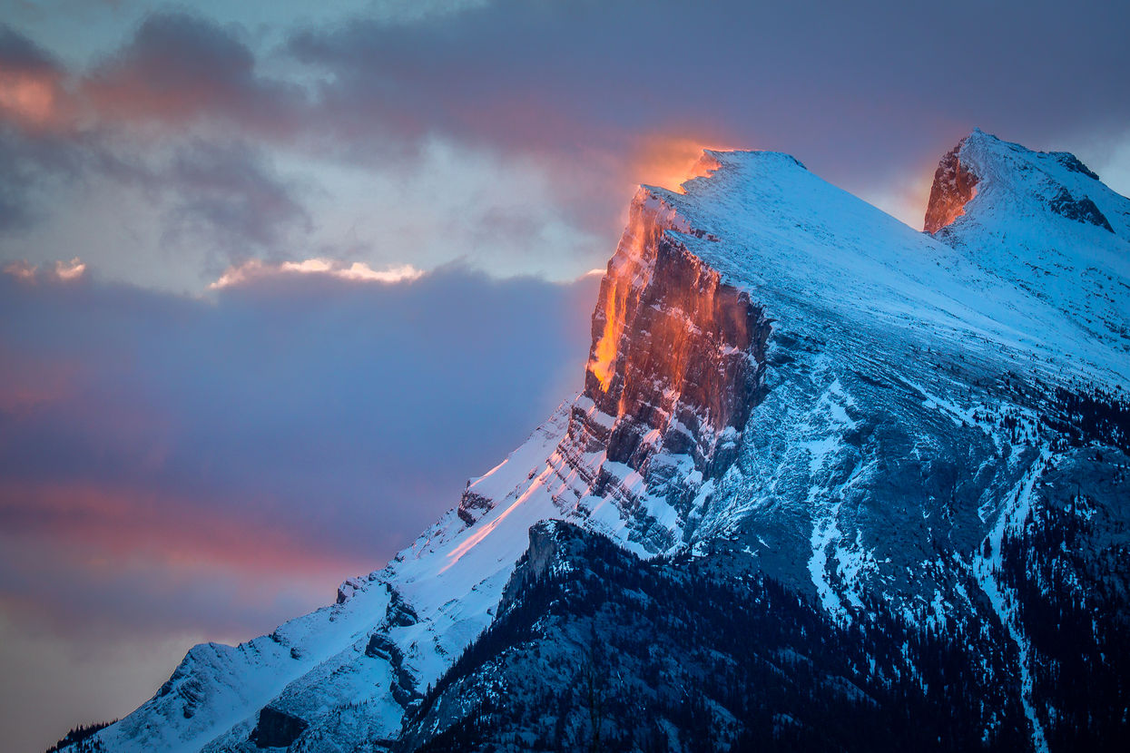 Mt Rundle, Banff National Park