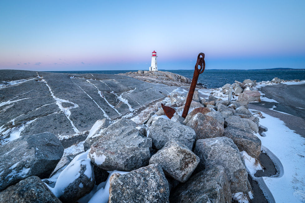The Anchor and the Lighthouse