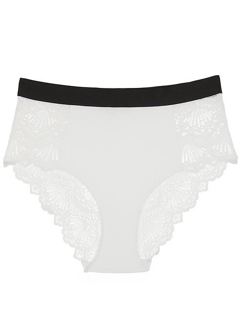 Understatement - White Noise Highwaist