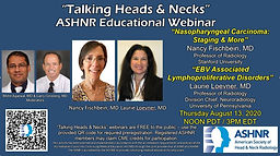 Talking Head and Necks: Nasopharynx and Post-Transplant Lymphoproliferative Disorder
