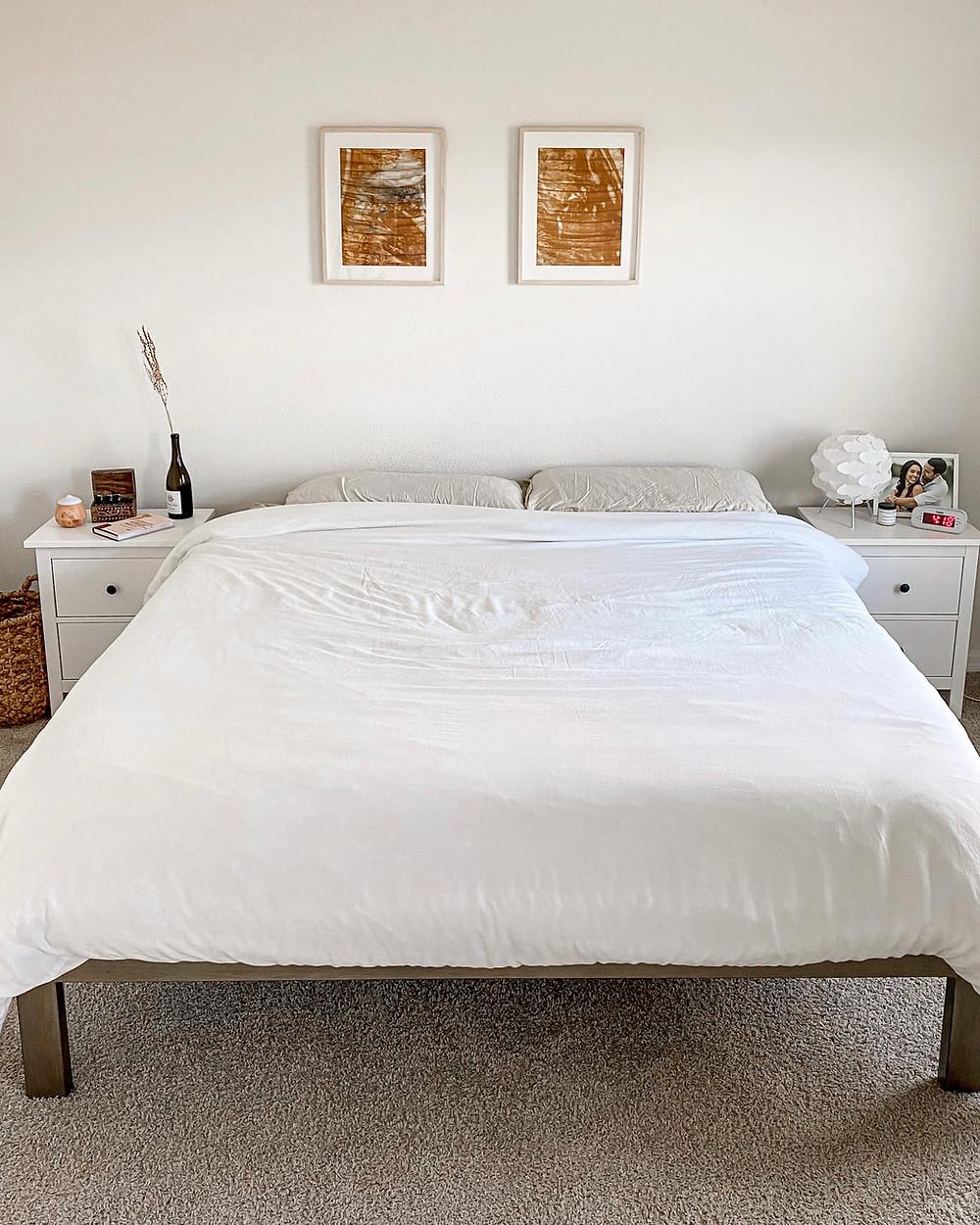 eco friendly minimalist bed