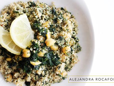 Super ensalada de proteínas vegetales