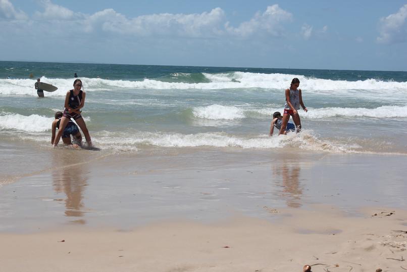 TEEN OZTAG BEACH SPRINTS
