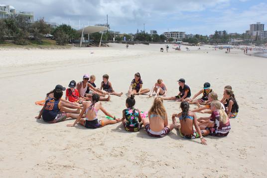 TWEEN OZTAG BEACH SPRINTS