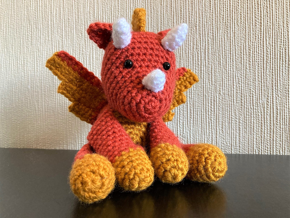 Spike the Dragon amigurumi pattern by Little Muggles | Crochet ... | 750x1000