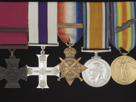 Chavasse medals go on show in Liverpool to mark centenary of VC's death