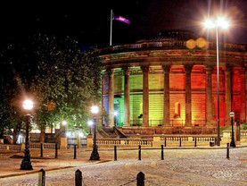 Rainbows light up Liverpool sites for Pride 2018