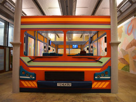 Hop on the Sol Calero bus at Tate Liverpool