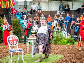 Review: Merry Wives of Windsor at Grosvenor Park ****